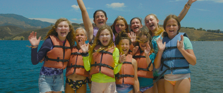 lake day at a summer camp